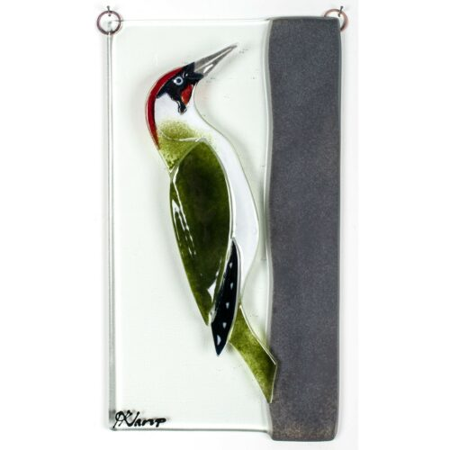 Green Woodpecker, relief